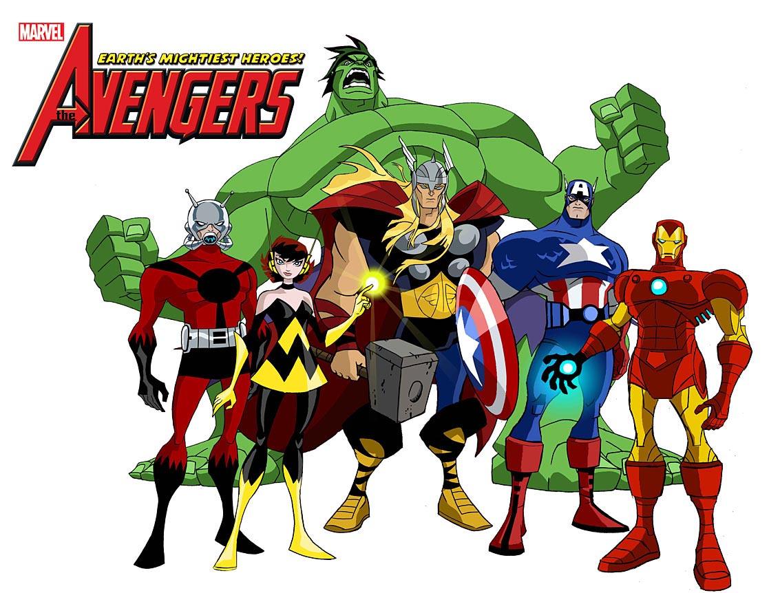 Coffret 4 DVD de la série animée Avengers dans 3D roster_season_01